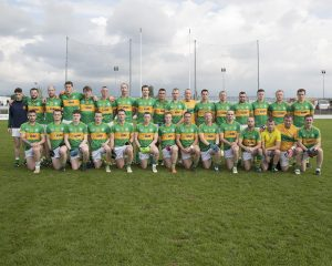 The Rathvilly senior football squad