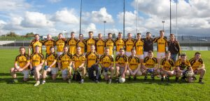 The Naomh Eoin intermediate footballers