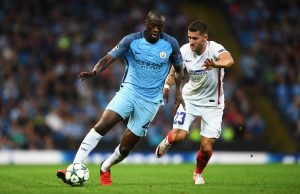 Yaya Toure hopes his apology will open a way back into the first team at Manchester City Photo: Getty