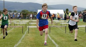 482dbb95c22179 Daire Byrne from Hacketstown wins the U10 boys 80m hurdles race